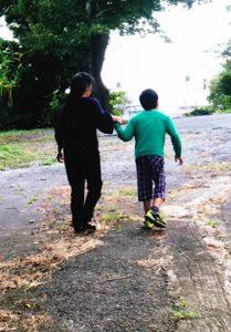 歩いた時の写真